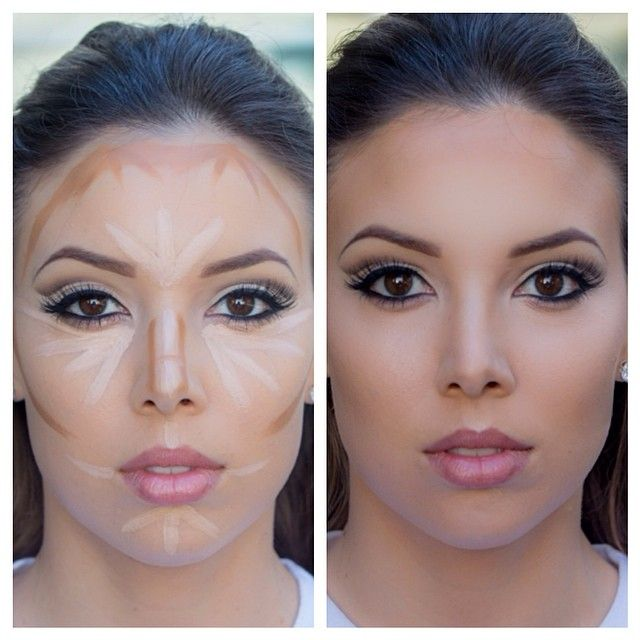 Photo. Photo. Simple Makeup For Round Face ...