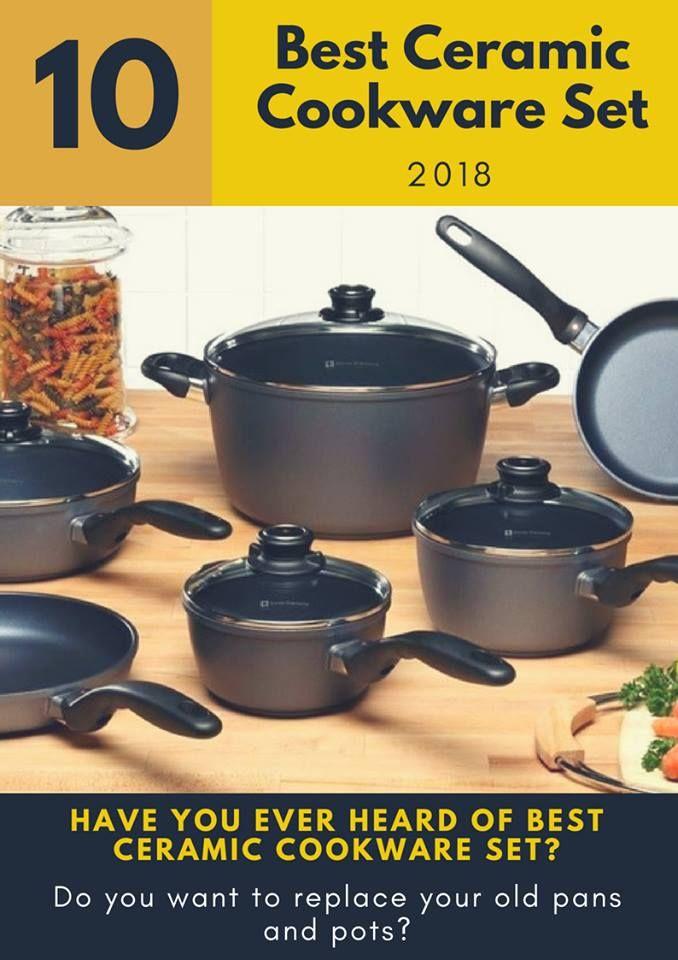 10 Best Ceramic Cookware Set Of 2020 Buyer S Guide Ceramic Cookware Set Cookware Set Ceramic Cookware