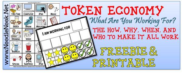 Token economy coupons