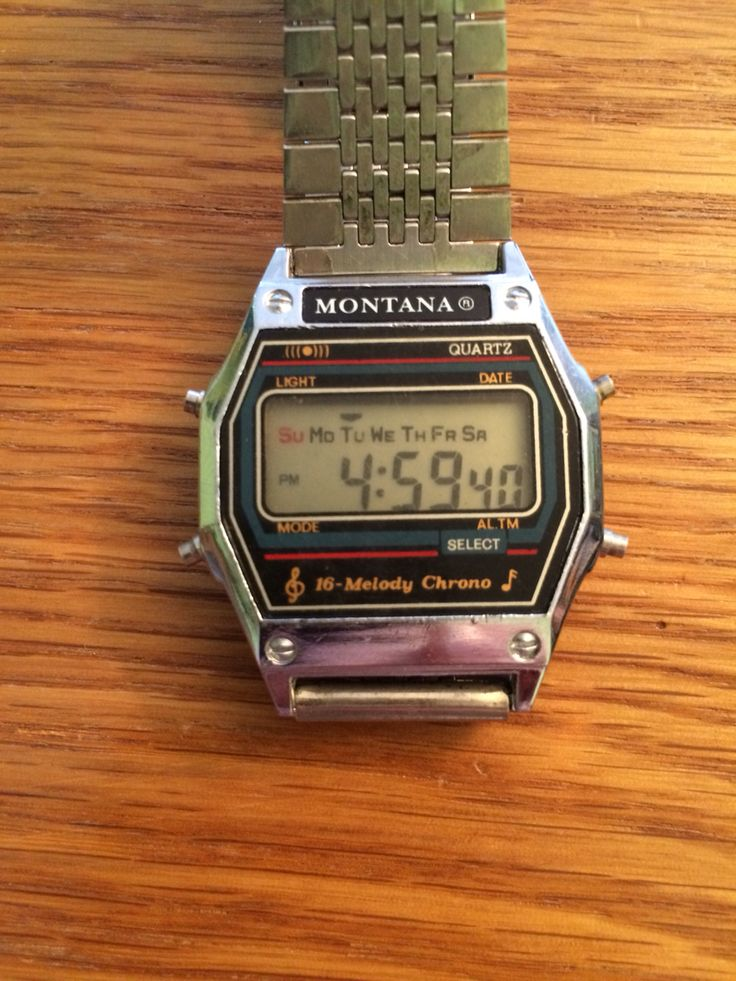 201 Best Images About Retro Digital Watches On Pinterest