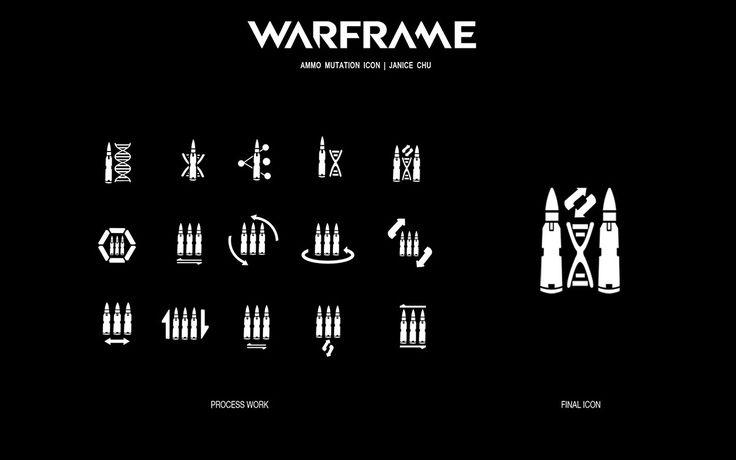 Warframe - Ammo Mutation Icon on Behance