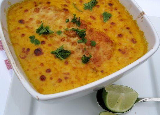 Cazuela de Pescado al Coco Gratinada (Fish and Coconut Casserole al Gratin) | My Colombian Recipes