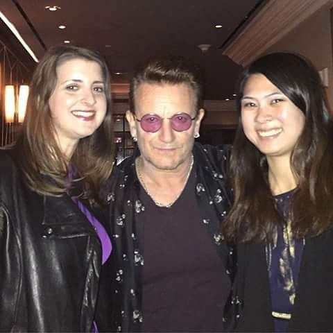 New York - November 19, 2016. Via @j_karcher @daniDpVox #U2 #Bono