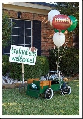 In honor of the last official day of football season, I HAD to post this amazing party done by my friend, Sharee , in honor of her son's fir...