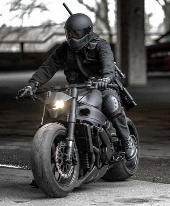 motocicleta de derivação