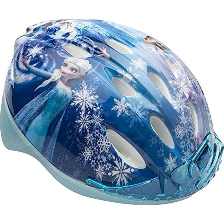 Bell Frozen Kids Helmets 3D Tiara Self-Adjusts Safe Cool Bike ATV Skateboard New #Bell