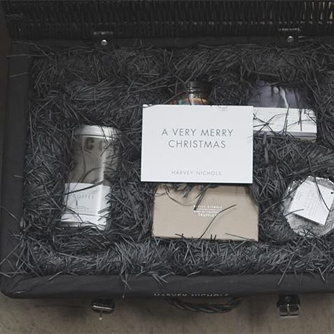 Another peek at our upcoming showreel: find Packaging Nirvana in our luxury hampers for @HarveyNichols.