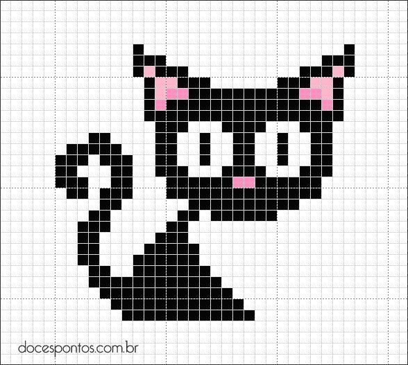 Doces Pontos: Gato preto