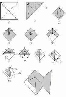 Origami Balık ve Denizatı