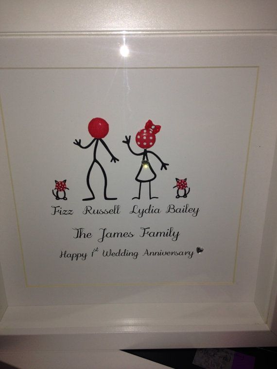 Personalised Family Button Pictures by ButtonInLove on Etsy