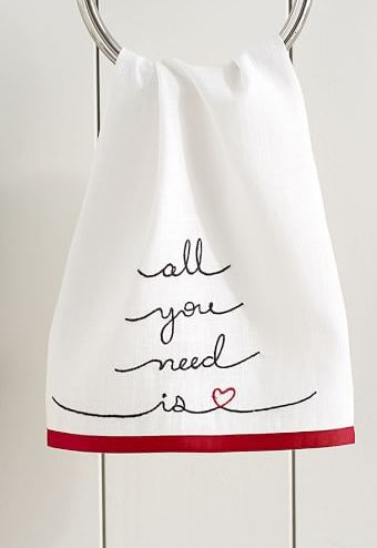 all you need is love - hand towel http://rstyle.me/n/vrqtznyg6