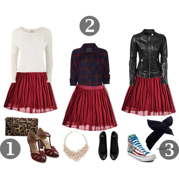 """Mesh Skirt Three Ways"" by Ansere on Polyvore"