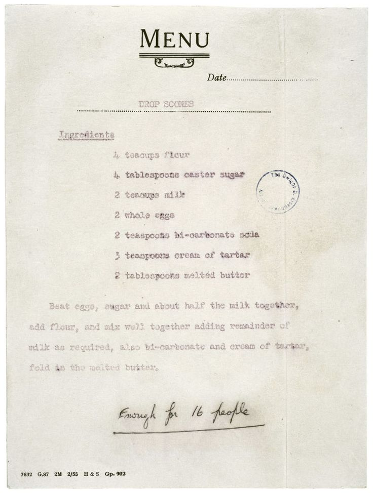 Queen Elizabeth's Drop Scones recipe