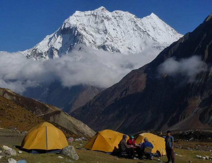 Manaslu trekking provides spectacular beauty along the border Nepal and Tibet and is now a controlled trekking route, allowing organized trekking groups special permits to gain entry into this region to venture round its spectacular circuit.