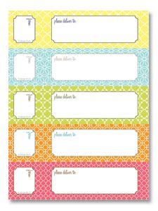 Wraparound address labels...free printable!: Envelope Address, Address Lables, Printable Templates, Wraparound Address, Address Labels Free, Wrap Around Address, Free Address Label Templates, Free Printable, Graphics Design Templates