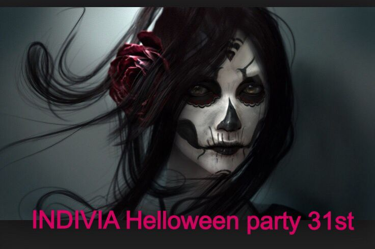 Halloween costume party at indivia studio 31st October
