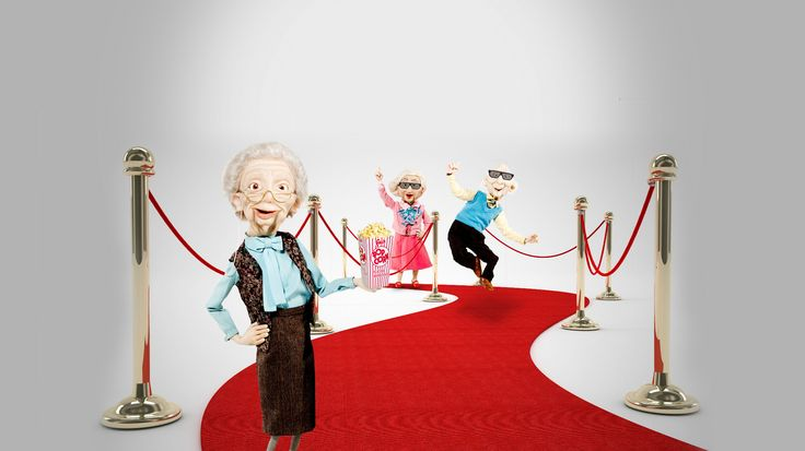 Betty, Earl & Joyce enjoying the red carpet!