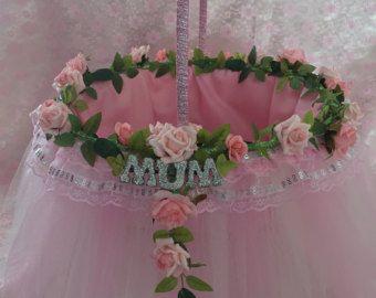 Cumpleaños o a la madre de la novia o el novio cesta de regalo