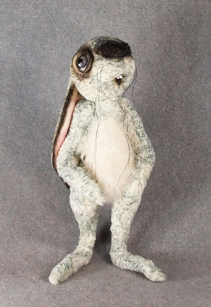 "Renee Rabbit, 13.5"" tall, Chatham Village Bears"