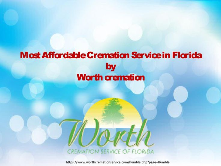 Choose cremation service that is famous and affordable in Florida. A famous affordable cremation service in Florida is available only on https://www.worthcremationservice.com/humble.php?page=Humble