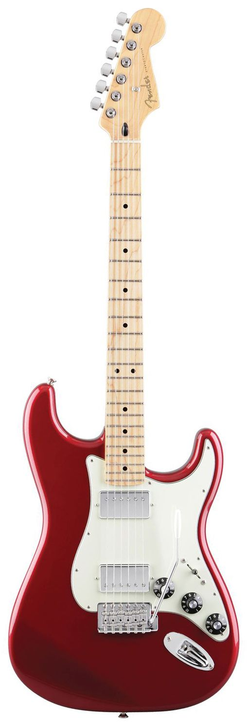 Fender Blacktop Stratocaster HH with Maple Fretboard Electric Guitar Candy Apple Red