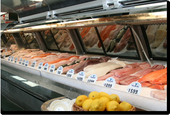 26 best ideas for the seafood market bakery images on for Fresh fish store