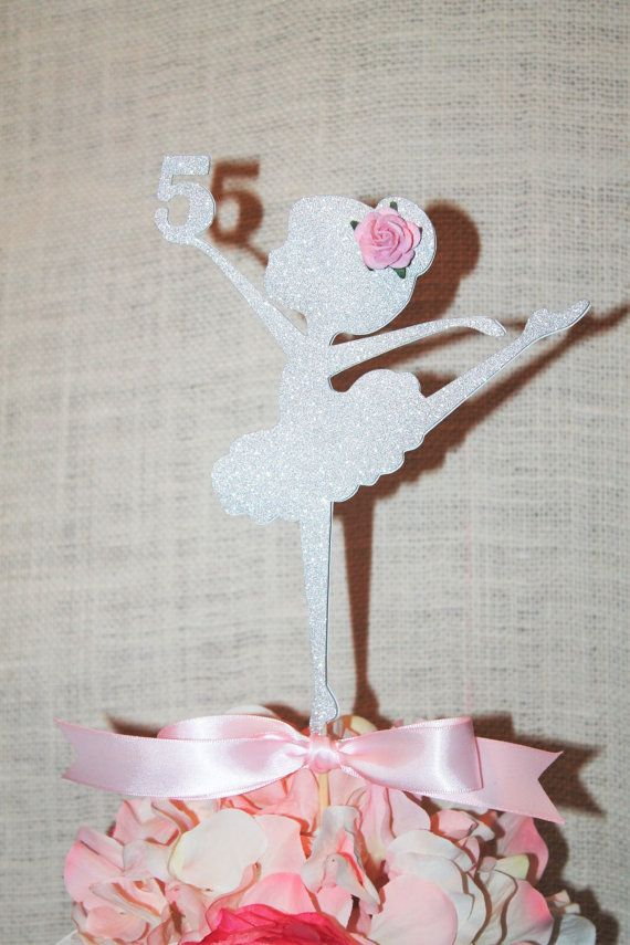 Ballerina cake topper ballerina party cake topper Dance