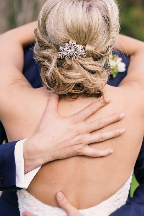 Beautiful bridal updo
