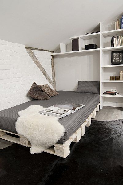 Bed - small bedroom