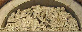 Nicola Pisano, Deposizione, Duomo di Lucca