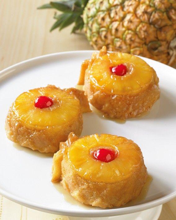 Pineapple Upside Down Cakelet Pan