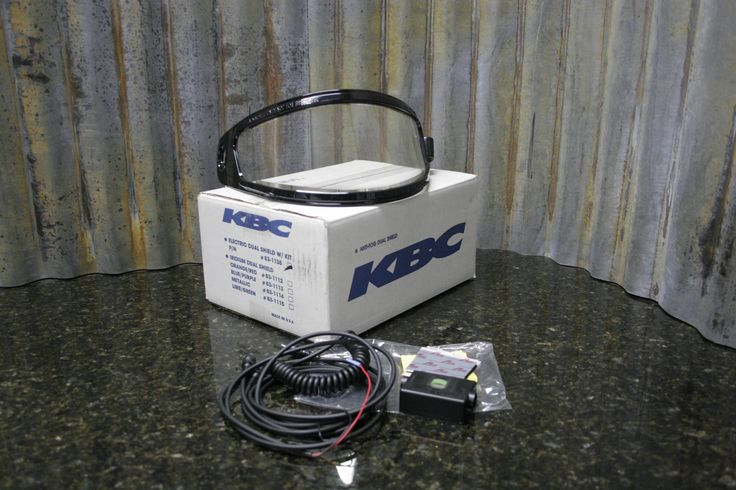 And here it is, the thing you were looking for. http://tincanindustries.com/products/new-kbc-snowmobile-helmet-dual-electric-face-shield-screen-kit-83-1138-free-s-h?utm_campaign=social_autopilot&utm_source=pin&utm_medium=pin If it is already sold, keep searching, there is plenty more to find.