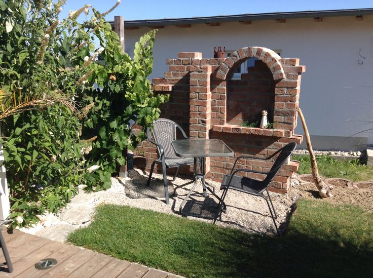 image result for ruinenmauer im wohnzimmer gestalten mauer pinterest gardens garten and. Black Bedroom Furniture Sets. Home Design Ideas