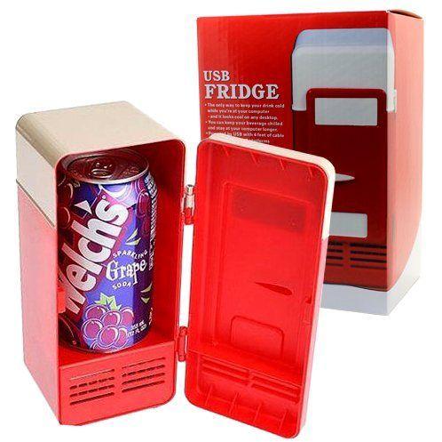 Mini USB Desktop Fridge Cooler Refrigerator *** Click image to review more details.