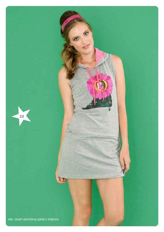 #Vestito Jersey Stretch #LollyStar - Scopri tutta la collezione qui --> http://www.lollystar.it/ #dress #SpringSummer