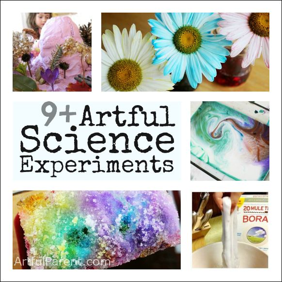 Artful Science Experiments Kids Can Do at Home