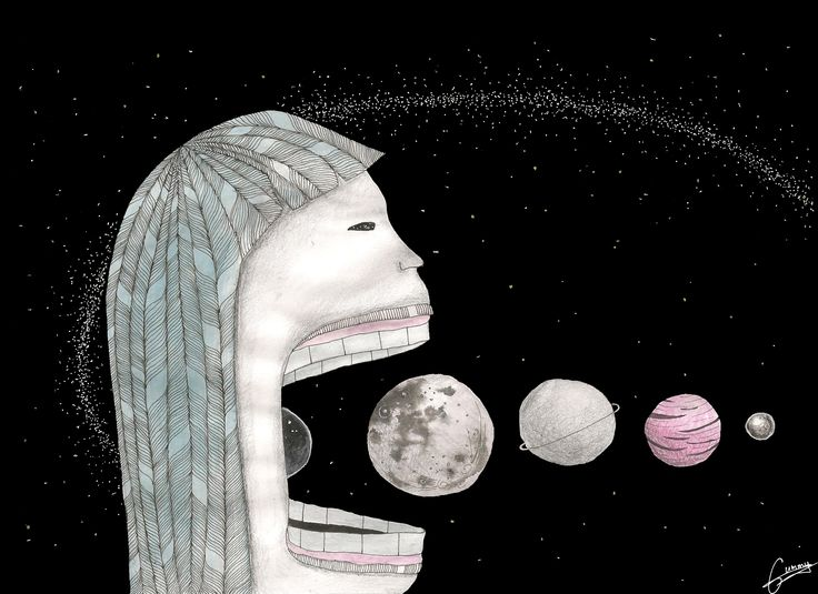 Did you ever try to eat all planets with galaxy? By me. Ugne Gumenikovaite