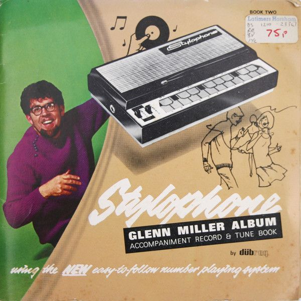 "Unknown Artist - Stylophone Glen Miller Album 1970 (Vinyl 33 1/2 RPM EP 7"") at Discogs"