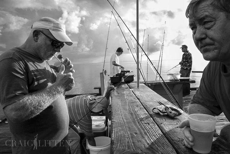 Craig Litten documents the the old city pier on Anna Maria Island, Florida with a Nikon V1 camera and 10mm f/2.8 lens