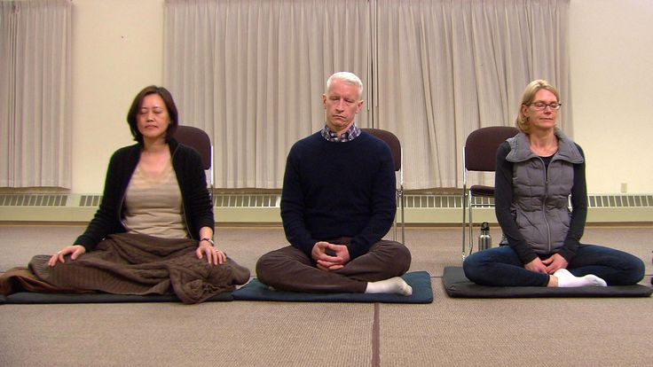 On a mindfulness retreat, Anderson Cooper puts down the microphone and learns to love silence -- and life without a cell phone