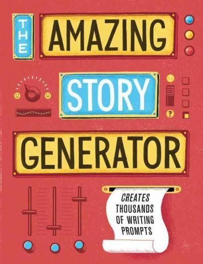 The Amazing Story Generator creates thousands of different story prompts! This flipbook for writers and other creative types allows users to randomly combine three different elements to generate a uni