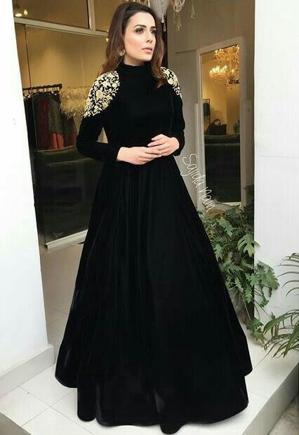 In love with black.....