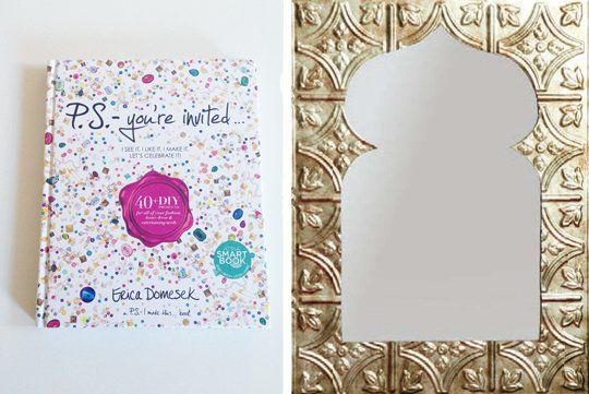 Make it Moroccan-Style: DIY Tile Mirror P.S.-You're Invited... | Apartment Therapy