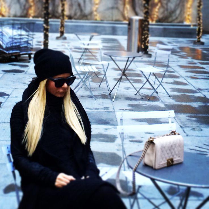#NewYork #Winter #WalkingAround #ChanelBoyBag