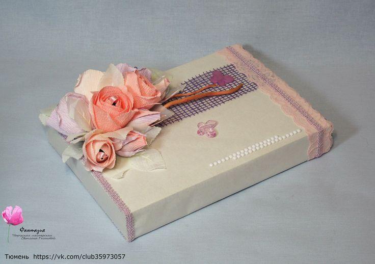 Оформление коробки конфет. Свит-дизайн.
