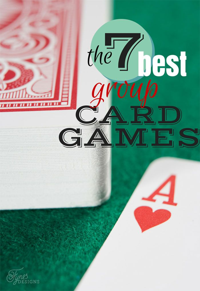Fun card games for a crowd. These card games are perfect for a group or party