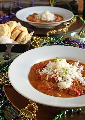 There's a Newf in My Soup!: Laissez Les Bon Temps Rouler - Let the Good Times Roll in New Orleans.  Chicken sauce picante