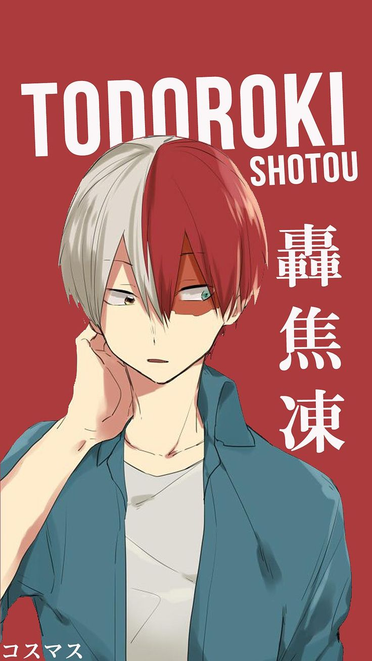 Todoroki Shotou ~ Korigengi | Wallpaper Anime