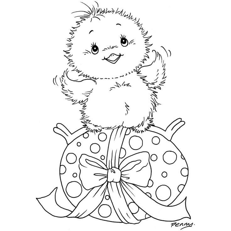 Free Printable Chicken Little Easter Eggs Coloring Pages For Kids