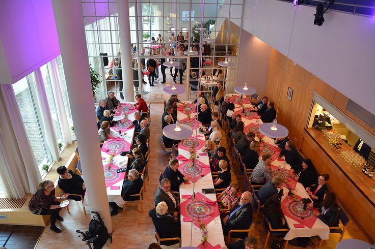 Linkosuon Juhlapalveluiden yksi monista juhlatiloista, UKK-instituutti. Tunnelmallinen paikka luonnonhelmassa.#linkosuonjuhlapalvelut #linkosuo #ukkinstituutti #UKK #juhlatila